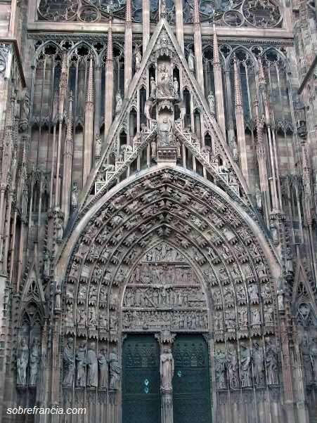 Pórtico de la Catedral de Estrasburgo