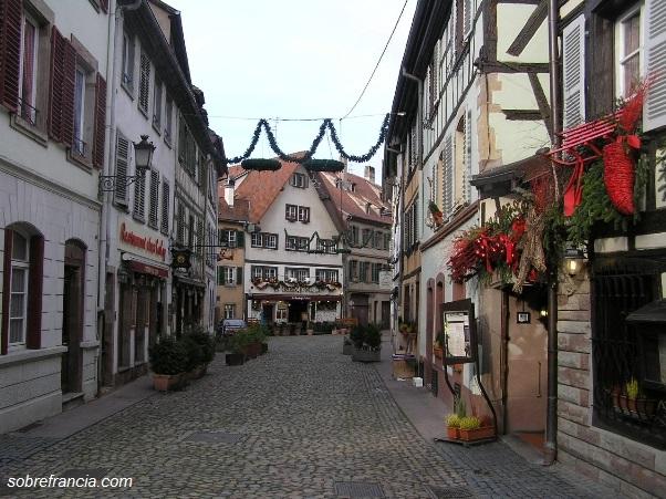 En el centro de Estrasburgo