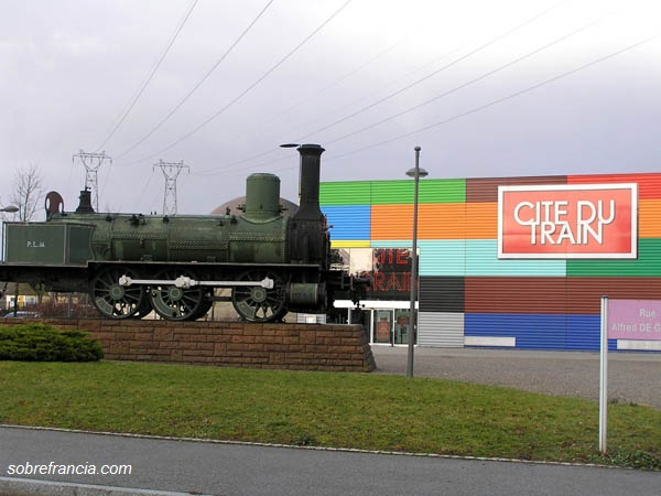La Cite du Train en Mulhouse