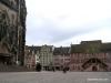 La plaza de la Reunión en Mulhouse