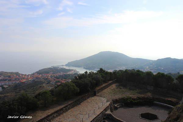 Fuerte Saint Elme vistas de Port Vendres