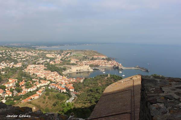 Fuerte Saint Elme vistas de Collioure