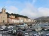 Iglesia en Port Vendres y Puerto Viejo