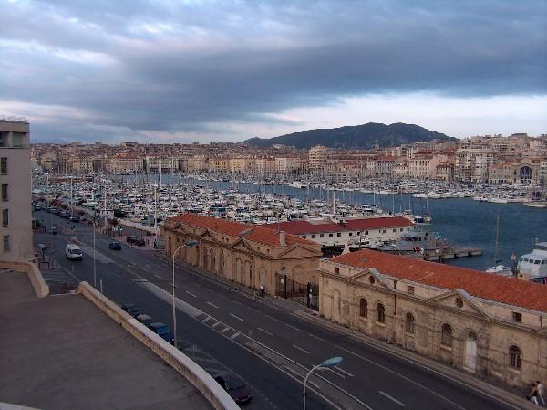 Puerto de Marsella, Francia