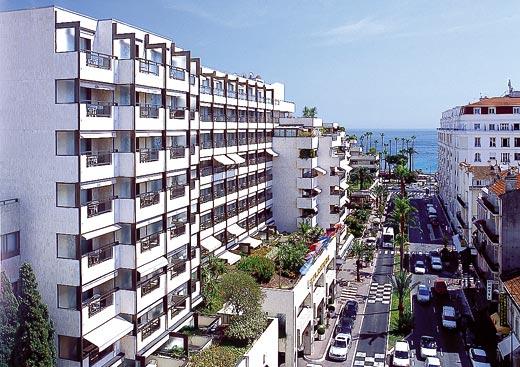 Opciones de hoteles en Cannes