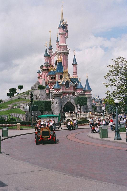 Castillo de la Bella Durmiente, Fantasyland, Disney Par�s