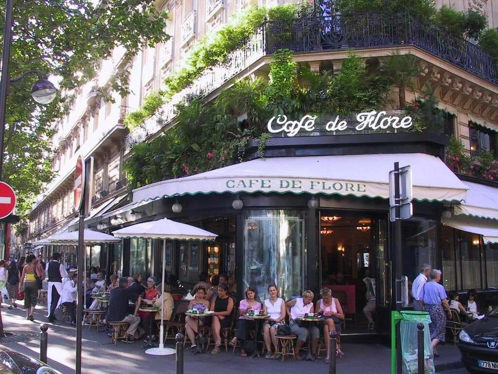Café de Flore, Paró