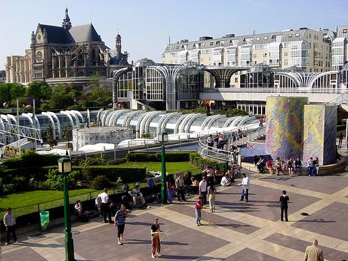 Forum de Les Halles, París, centro comercial