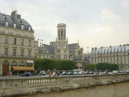 Torre de Santiago, Paris