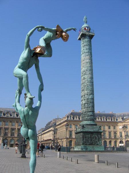 La Plaza Vendome, en París
