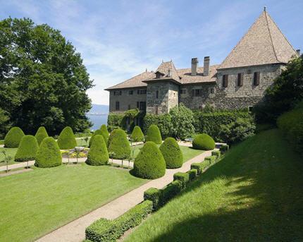 Castillo Touvet, Alpes franceses