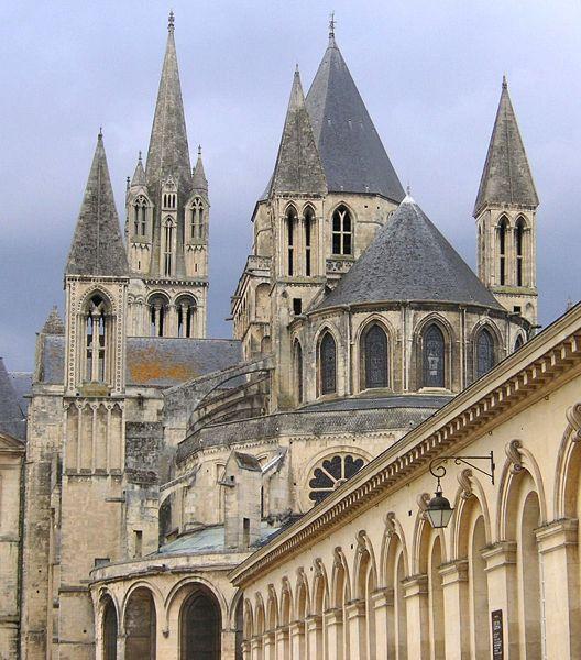La Abadia de Saint-Etienne, en Caen
