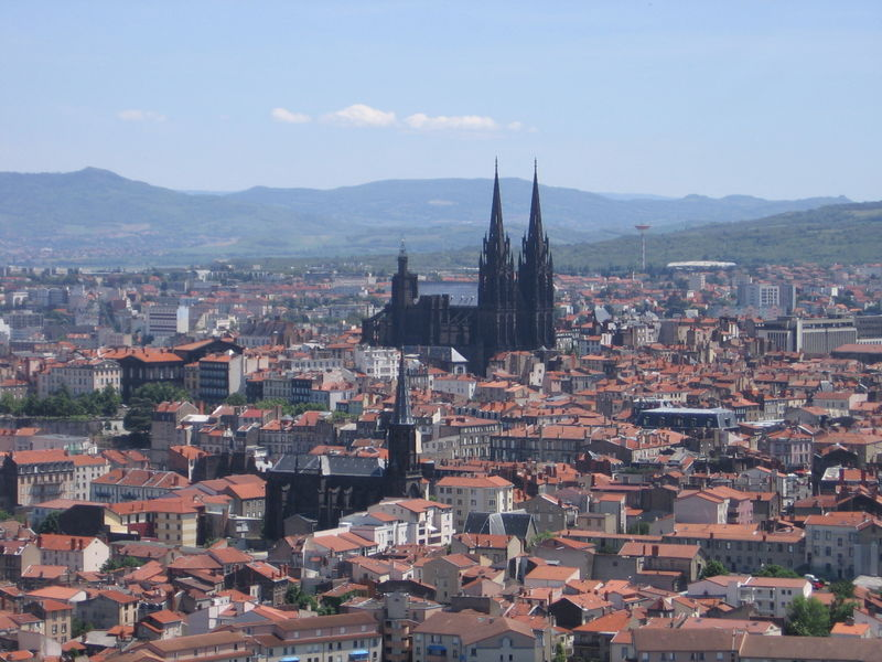 Panorámica Clermont-Ferrand, Auvernia