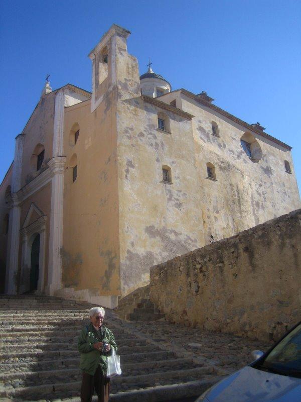 Corcega, iglesia de san juan bautista, calvi