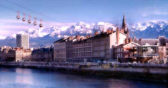 Grenoble, alpes franceses