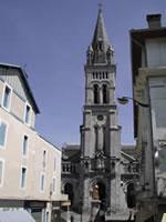 Lourdes, Antigua Iglesia Parroquial, Bernardita