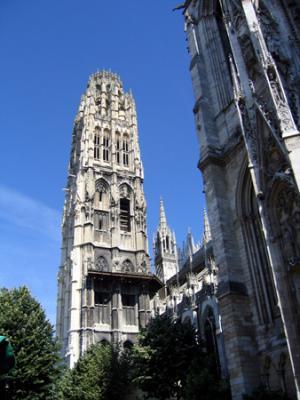 Catedral de Rouen, Ruán, Normandía