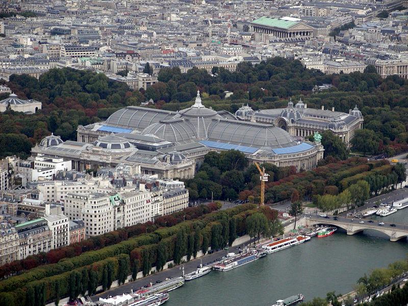 Grand Palais des champs-Elysées, gran palacio bellas artes campos elíseos, París
