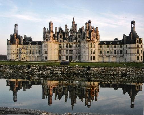 Castillo Chambord en el Loira