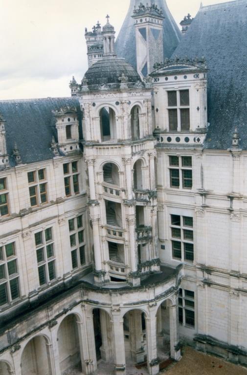 Castillo Chambord, detalle