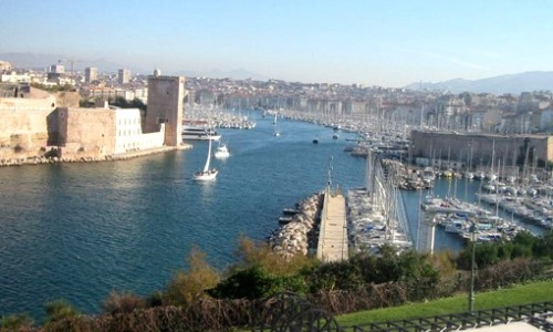 Marsella, costa mediterránea