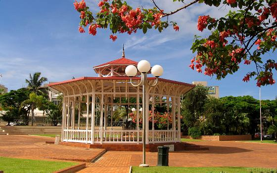 Noumea, Nueva Caledonia, Place des Cocotiers