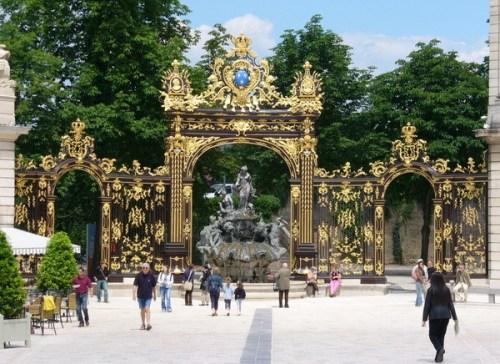 Nancy, las tres plazas historicas de la ciudad