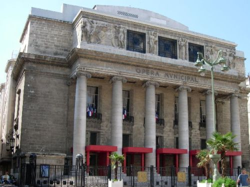 Ópera de Marsella, casco antiguo