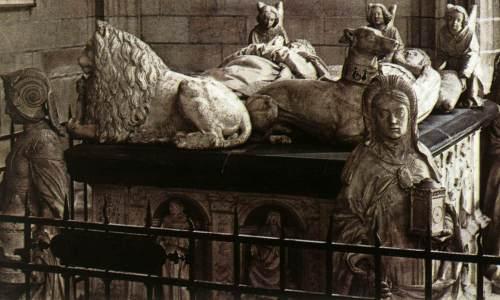Nantes, catedral, tumba de los duques de Bretaña