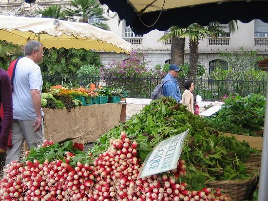 Mercado cours saleya, niza