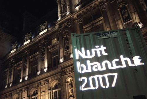 Noche blanca, Paris