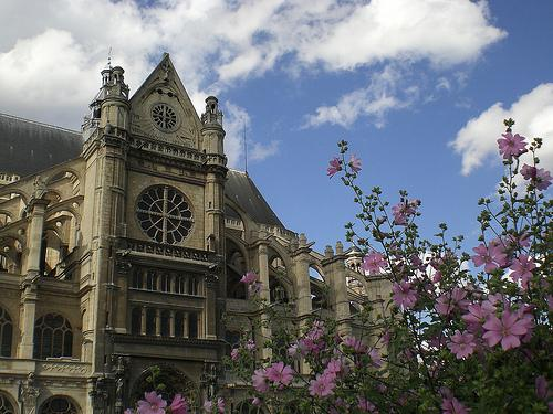 La Iglesia de Saint-Eustache en París