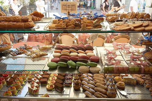 De compras por las regiones de Francia