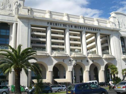 Palacio Mediterraneo en Niza