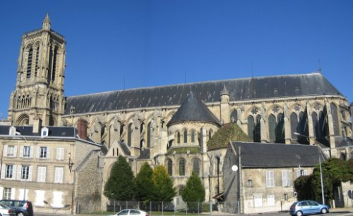 Soissons, hogar de abadías