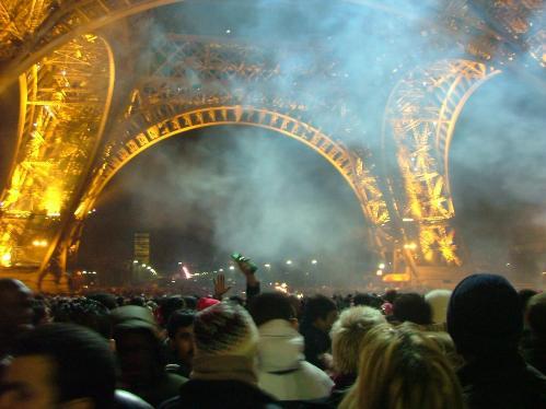 Año nuevo en Paris