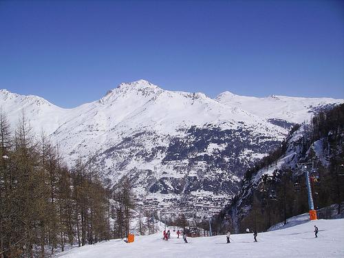 Estaciones alpinas de Francia