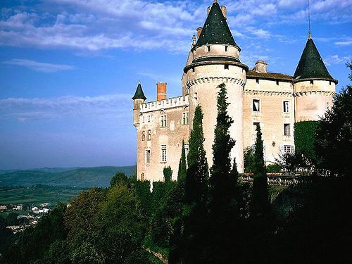 castillo de Francia