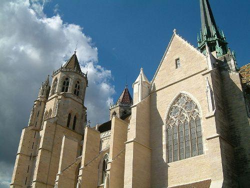 Dijon, bella ciudad en Borgoña