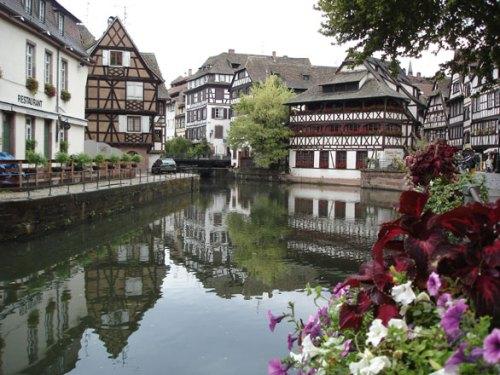 Dos tradicionales barrios de Estrasburgo