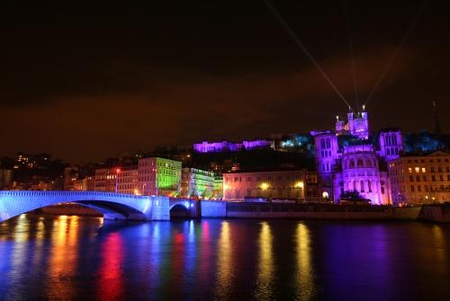 El Festival de las Luces, en Lyon
