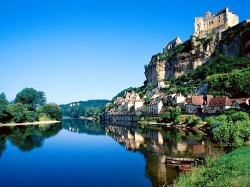El Castillo de Beynac, en Dordoña