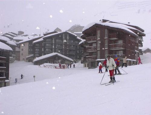 La Plagne, pintoresca estación de esquí