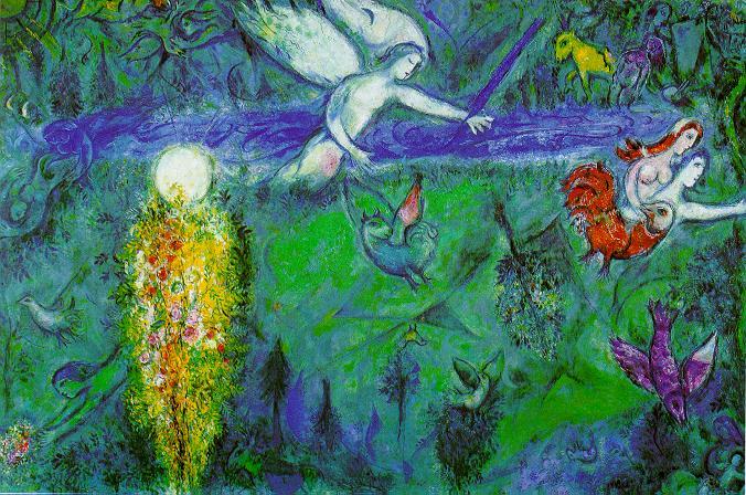 Mística belleza en el Museo Chagall