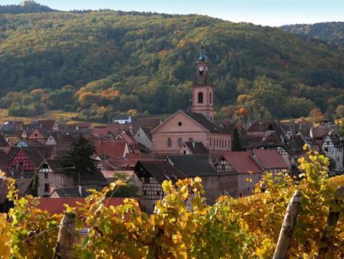 Riquewihr, un típico pueblo vitivinícola