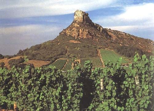 La roca de Solutré, monumento natural