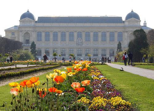 Jardin des Plantes, en París