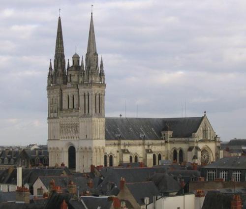 La catedral de Angers