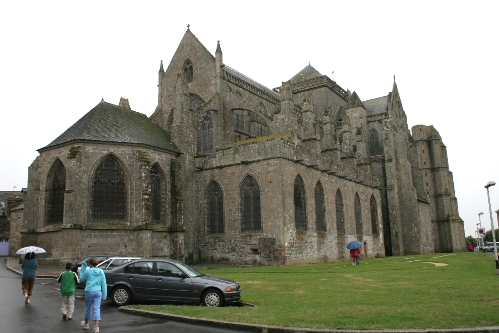 La catedral de Dol de Bretagne.