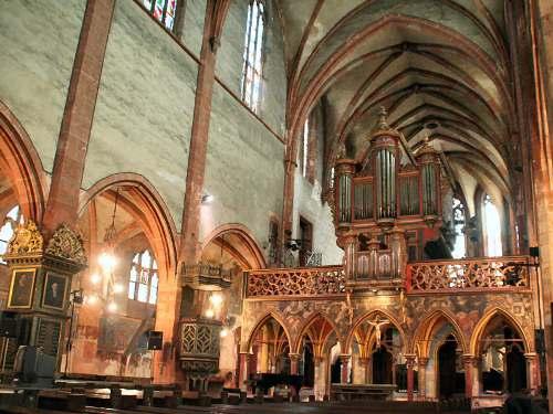 La iglesia de Saint-Pierre-le-Jeune, en Estrasburgo